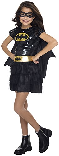 Rubies Girls Batgirl Tutu Dress Costume M