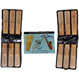 Alto Saxophone Reeds,Made Of Superior And Kasmiri Cane,One Doz