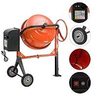 Betoniyer Harc Karma Makineleri Portatif 220 Volt Elektrikli (Turuncu)