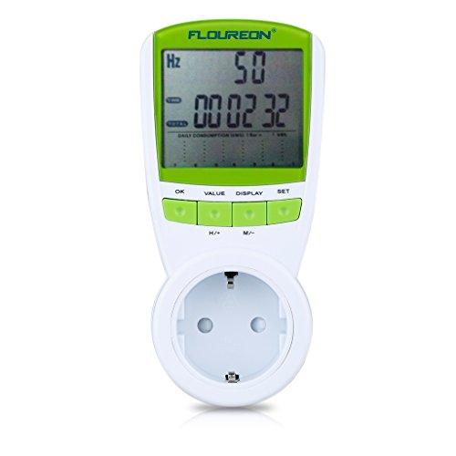 Floureon 230VAC Power Meter Misuratore dei Costi Energetici | Contatore
