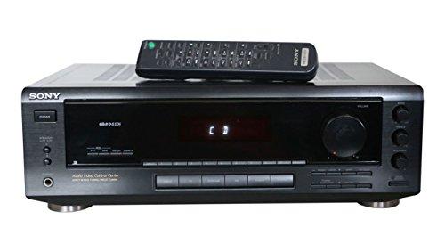 STR-DE 305 Stereo Receiver in schwarz