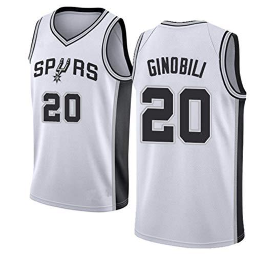 HWHS316 San Antonio Spurs # 20 Manu Ginóbili Uniformes