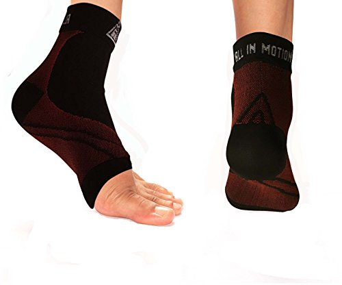 Plantar Fasciitis & Foot Pain Socks by AIM Labs – Best Enhanced Anti-Fatigue Strong Graduated Compression Foot Sleeves For Men, Women & Kids. Improves Circulation Heels Spurs, Arch & Ankle Swelling