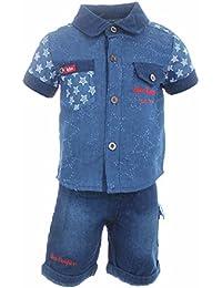 Lee Cooper Set Hemd Shirt and Short Junge
