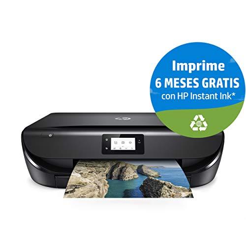 HP Envy 5030 -  Impresora Multifunción Inalámbrica (Tinta,  Wi- Fi,  Copiar,  Escanear,  1200 x 1200 PPP,  Modo Silencioso) Color Negro