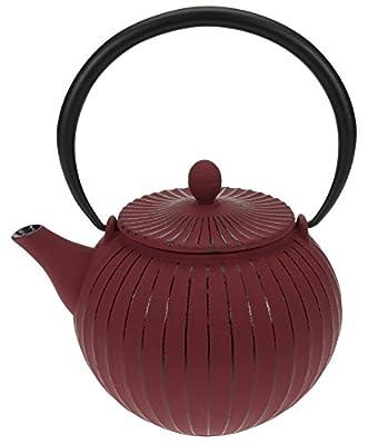 Cosy & Trendy 431221 Lantern Théière Fonte Rouge 1,2 L