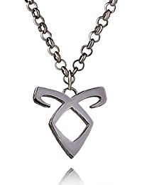 TBOP NECKLACE THE BEST OF PLANET Simple And Stylish Jewelry Angel Power Mortal Instrument Clavicle Chain Necklace...