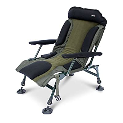 ABODE® Carp Fishing Camping Folding Easy-Arm™ Lo-Armchair Sport Chair from ABODE