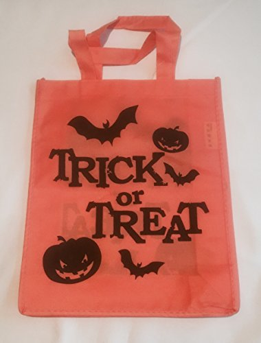 JES Collection Halloween-Tasche, mit Aufdruck (orange)