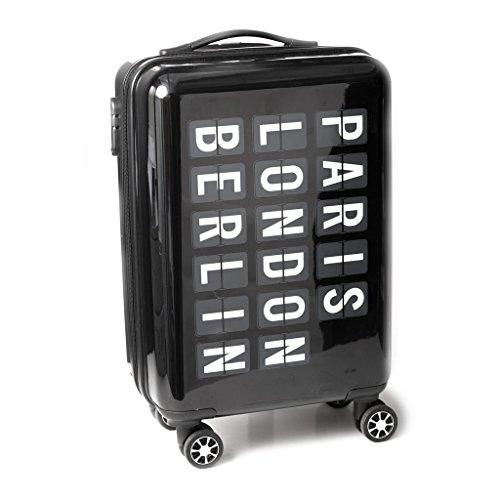 Balvi-Airportvaligiatrolleyconmisurecabina.Realizzatoinplasticarigida-ABS.Con4ruote.