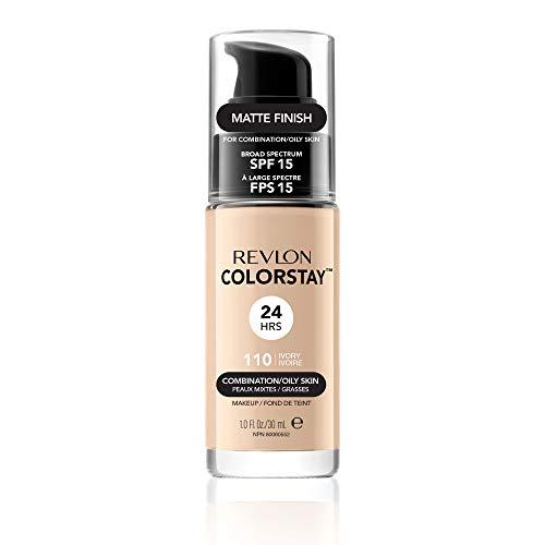 Revlon ColorStay Makeup for Combi/Oily Skin Ivory 110, 1er Pack (1 x 30 g) (Light Revlon Colorstay)