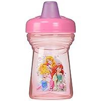 The First Years Y9557 - Disney Princess Becher, 280 ml, der weiche, auslaufsichere Trinkschnabel ist ideal für einen aktiven Baby-Alltag