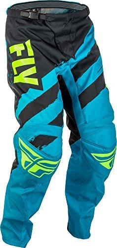 Fly Racing F-16 Motocross Hose, blau-schwarz, Größe: 42, MX Pant Mountainbike MTB (Dirt 42 Bike Hose)