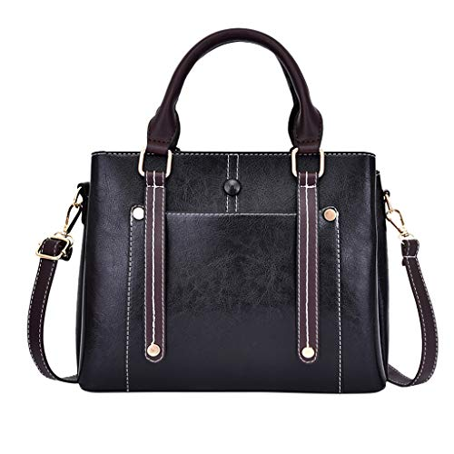 OIKAY Mode Damen Tasche Handtasche Schultertasche Umhängetasche Mode Neue Handtasche Frauen Umhängetasche Schultertasche Strand Elegant Tasche Mädchen 0605@043
