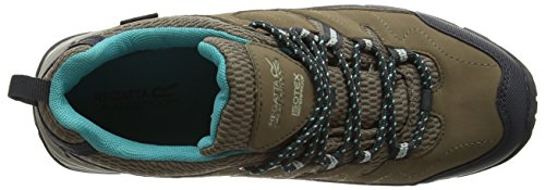 Regatta Lady Holcombe, Scarpe da Arrampicata Donna Grigio (Grey (Walnut/Ceramic))