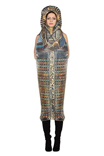 Wilbers Sarkophag Kostüm TUT Sarg Halloween Horror Ägypten Pharao Pharaokostüm Karneval