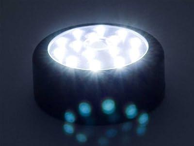 LED Lampe mit Bewegungssensor Infrarot Nachtlicht mit 15 LEDs von Goods & Gadgets auf Lampenhans.de