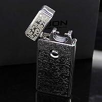 BestPriceEver JOBON Electronic USB Plasma Single Arc Rechargeable Cigarette Lighter (Tesla Coil) (Silver)