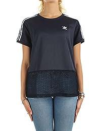 T-Shirt adidas – Osaka bleu/blanc taille: 38 S (Small)