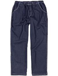 XXL Jean confortable avec ceinture élastique, bleu foncé