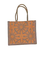ABV Lunch Bag, Jute Bag, Small Size (Yellow Color)