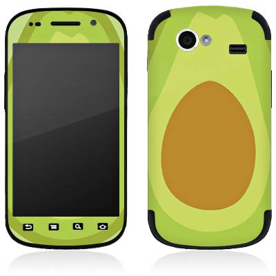 DeinDesign Google Nexus S I9023 Folie Skin Sticker aus Vinyl-Folie Aufkleber Avocado Frucht Vegan
