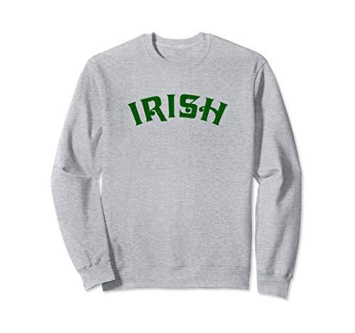 Irische Erin Go Bragh Shamrock  Sweatshirt -