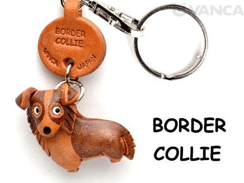 border-collie-cuero-perro-pequeo-llavero-vanca-craft-collectible-llavero-hecho-en-japn
