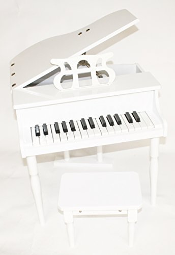 Kinder Klavier Piano Flügel Kinderklavier + Hocker WT