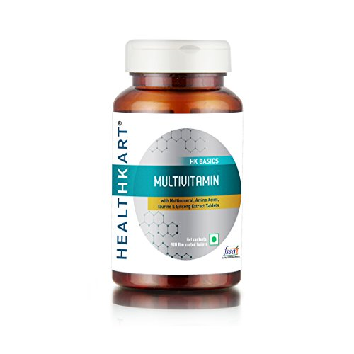 HealthKart Multivitamin with Ginseng Extract - 90 Veg Tablets