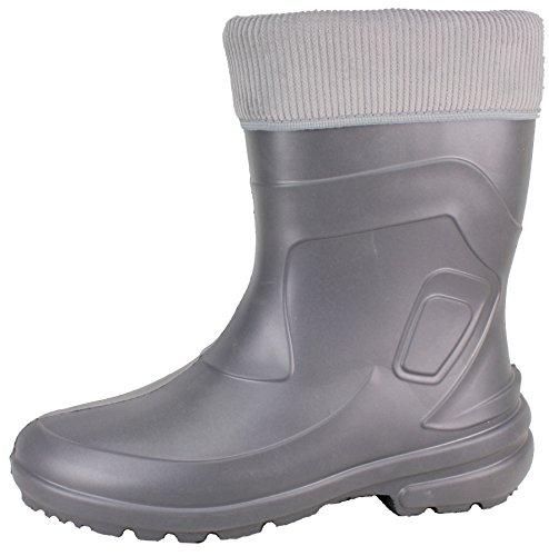 BOCKSTIEGEL® LINDA Donna - Stivali di gomma alla moda (Taglie: 36-42) grey/multi