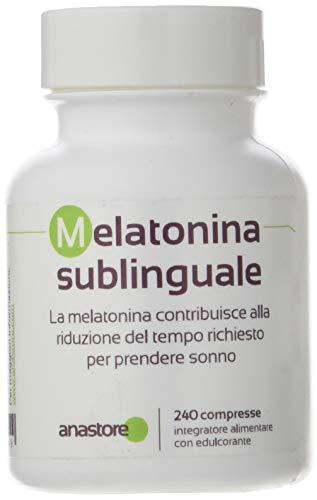Melatonina * sublinguale 1.8 mg / 120 dosi + stevia (aroma di limone)* sonno * 100% soddisfatti o rimborsati * fabbricato in francia