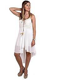 Vestidos blancos ibicencos amazon
