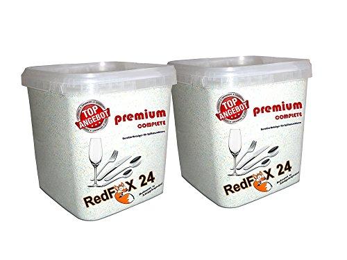 10 kg Geschirr Reiniger für die Spülmaschine 12 in 1 Granulat fein im praktischen wiederverschließbaren Eimer, deutsche Markenware für jede Spülmaschine geeignet.