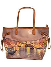 YNOT donna borsa shopping G-319 VEN2 137fc5a3708