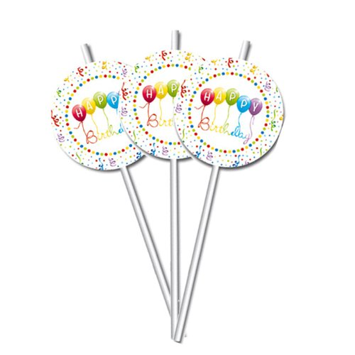 Procos Happy Birthday Servietten Medallion Flexi ()