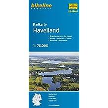 bikeline - Radkarte Havelland (BRA3), GPS-tauglich mit UTM-Netz