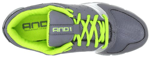 AND1 ULTRA LYTE LOW 1001201077, Chaussures de basketball femme Gris (TR-B2-Gris-413)