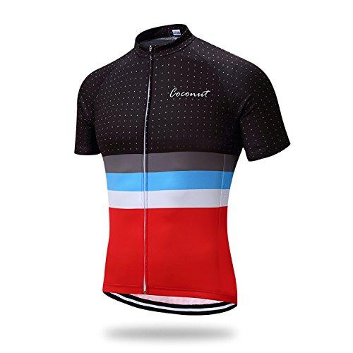 Camiseta de manga corta transpirable de ciclismo para hombre 276ab38ce