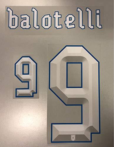 Flock Original Trikot Italien 25cm - Balotelli 9