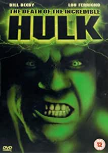 The Death of The Incredible Hulk [DVD]
