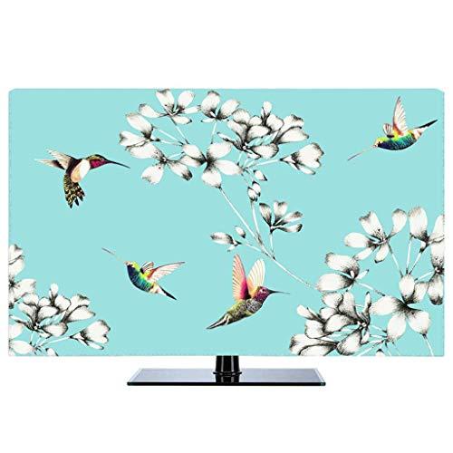 Monitor Hülle - Staubschutzhülle LCD- / LED- / HD-Display-Schutzhülle Baumwollgewebe/dreidimensionale Einfassung/Staubdichtes/Sonnenschutz/kein Ausbleichen/22-80 Zoll-32Zoll-C