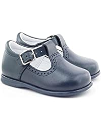 Boni Classic Shoes - Zapatos de cordones de cuero para niña