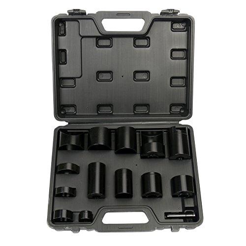 FreeTec Kugelgelenk Master Service Kit Austreiber Satz Lagertreibsatz Bohrereinsatz für alle Autos Trucks, 14-teilg