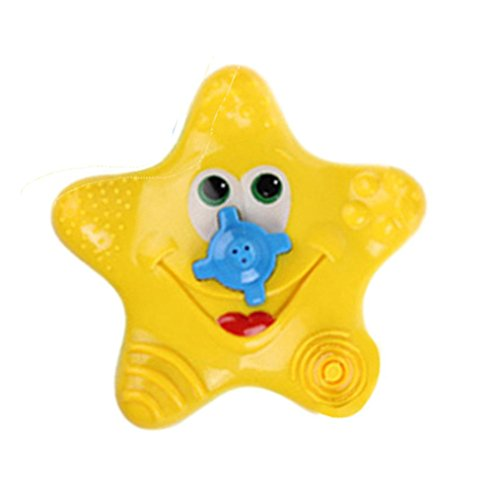 Coupon Matrix - GreatestPAK Sale! Baby Bath CM© toys, Summer Babies Cute Electrical Starfish Sprinkler Shower Sassy Swimming Pools Bathing CM© toy Toddler Gift (Yellow)