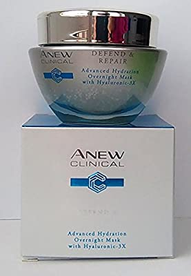 AVON Anew Clinical Defend & Repair Advanced Hydration Overnight Mask 50ml - 1.7oz by Avon