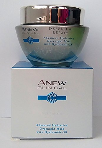 AVON Anew Clinical Defend & Repair Advanced Hydration Overnight Mask 50ml - 1.7oz (Advanced Anti-aging-maske)