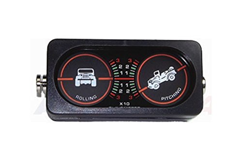 Preisvergleich Produktbild Tf Allmakes GLM001 Landmeter Inclineometer Indicates The Angle Of Tilt Of The Vehicle F