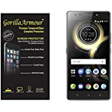Gorilla Armour Premium Tempered Glass For Lenovo K8 Note | 0.3 Mm, Oil Coated Tempered Glass Screen Protector Only For : Lenovo K8 Note