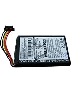 Batterie type TOM-TOM CS-TM750SL, 3.7V, 1100mAh, Li-ion